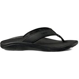 OluKai Ohana Sandals Herre black/black